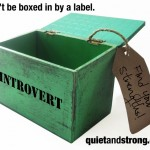Don't be boxed in by a label.